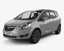 3D model of Opel Meriva (B) 2013
