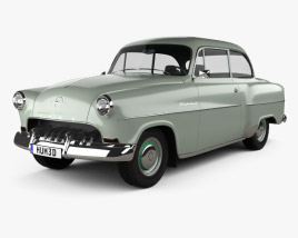 3D model of Opel Olympia Rekord 1956