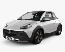 3D model of Opel Adam Rocks concept 2013