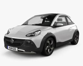 3D model of Opel Adam Rocks concept 2013