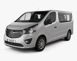 Opel Vivaro Passenger Van 2014 3D model