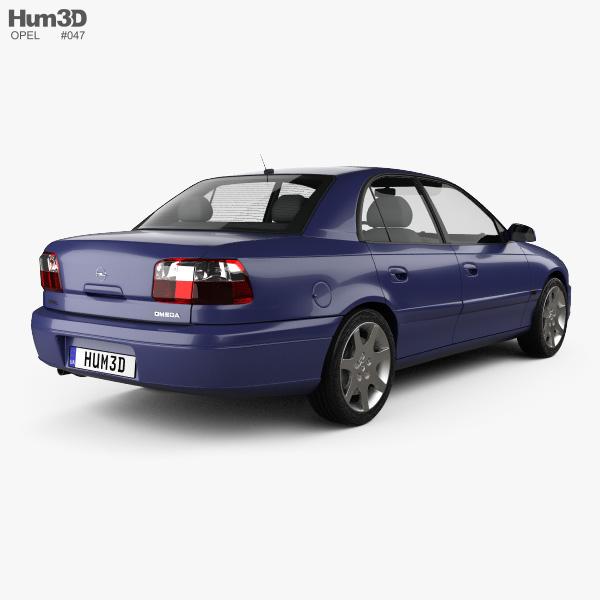 Opel Omega (B) sedan 1999 3D model