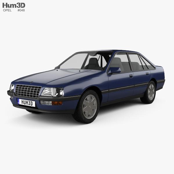Opel Senator (B) 1987 3D model