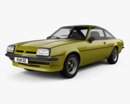 Opel Manta (B) 1975 3D model
