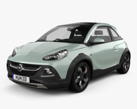 3D model of Opel Adam Rocks 2014
