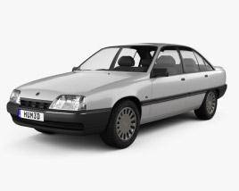 3D model of Opel Omega (A) 1987