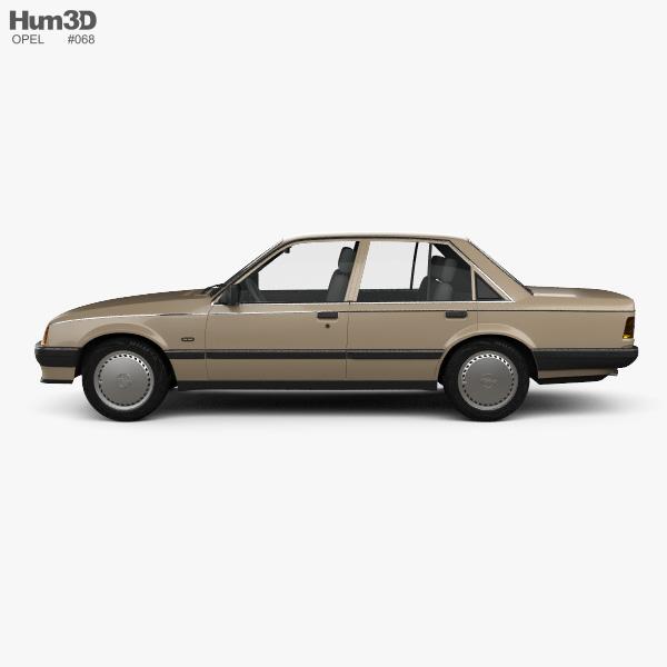 Opel Rekord 1982 3D model