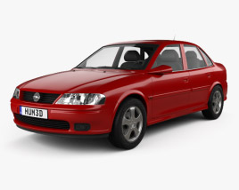 3D model of Opel Vectra 1995
