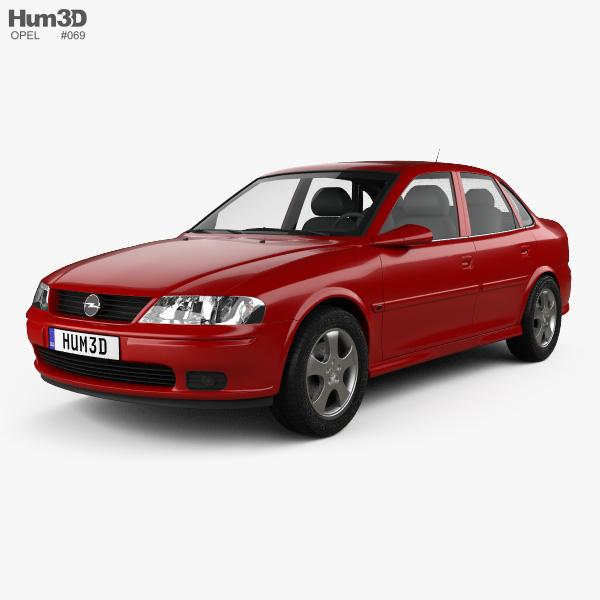 Opel Vectra 1995 3D model
