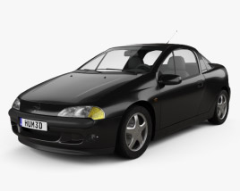 3D model of Opel Tigra 1994