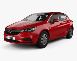 3D model of Opel Astra K Selection 2016