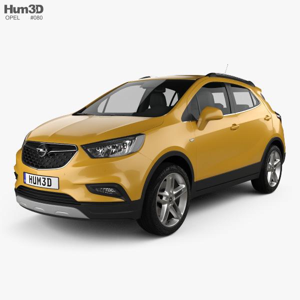 Opel Mokka X 2017 3D model