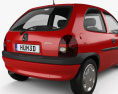 Opel Corsa (B) 3-door hatchback 1998 3d model