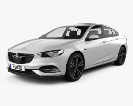 3D model of Opel Insignia Grand Sport 2017