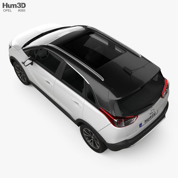 Opel Crossland X Turbo 2017 3D model