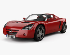 3D model of Opel Speedster 2000