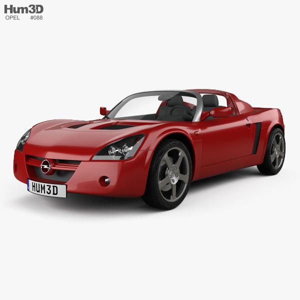 Opel Speedster 2000 3D model