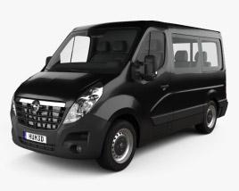 Opel Movano Passenger Van L1H1 2010 3D model