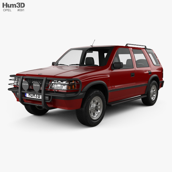 Opel Frontera (A) 5-door 1992 3D model