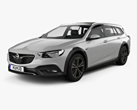3D model of Opel Insignia Country Tourer 2017