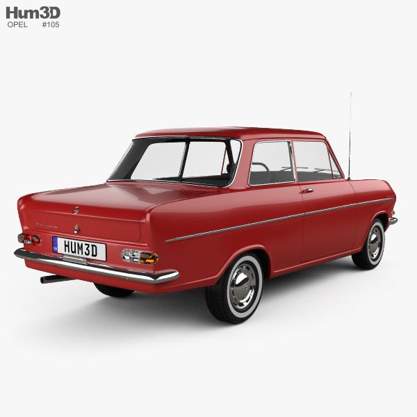 Opel Kadett 1962 3D model