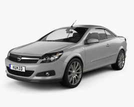 3D model of Opel Astra TwinTop 2006
