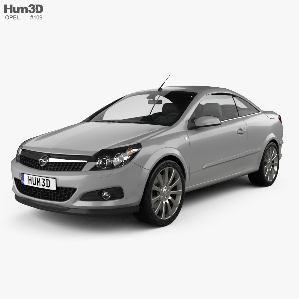 Opel Astra TwinTop 2006 3D model