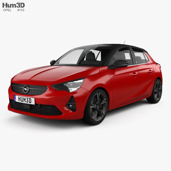 Opel Corsa 2020 3D model