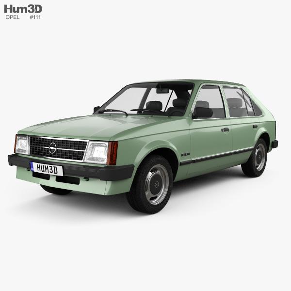Opel Kadett 5-door 1979 3D model