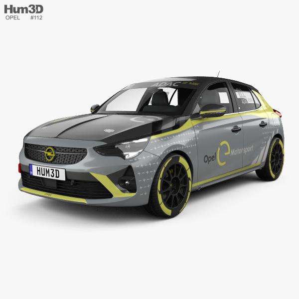 Opel Corsa e-Rally 2020 3D model