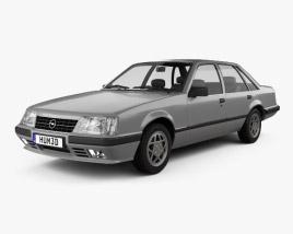 3D model of Opel Senator 1982