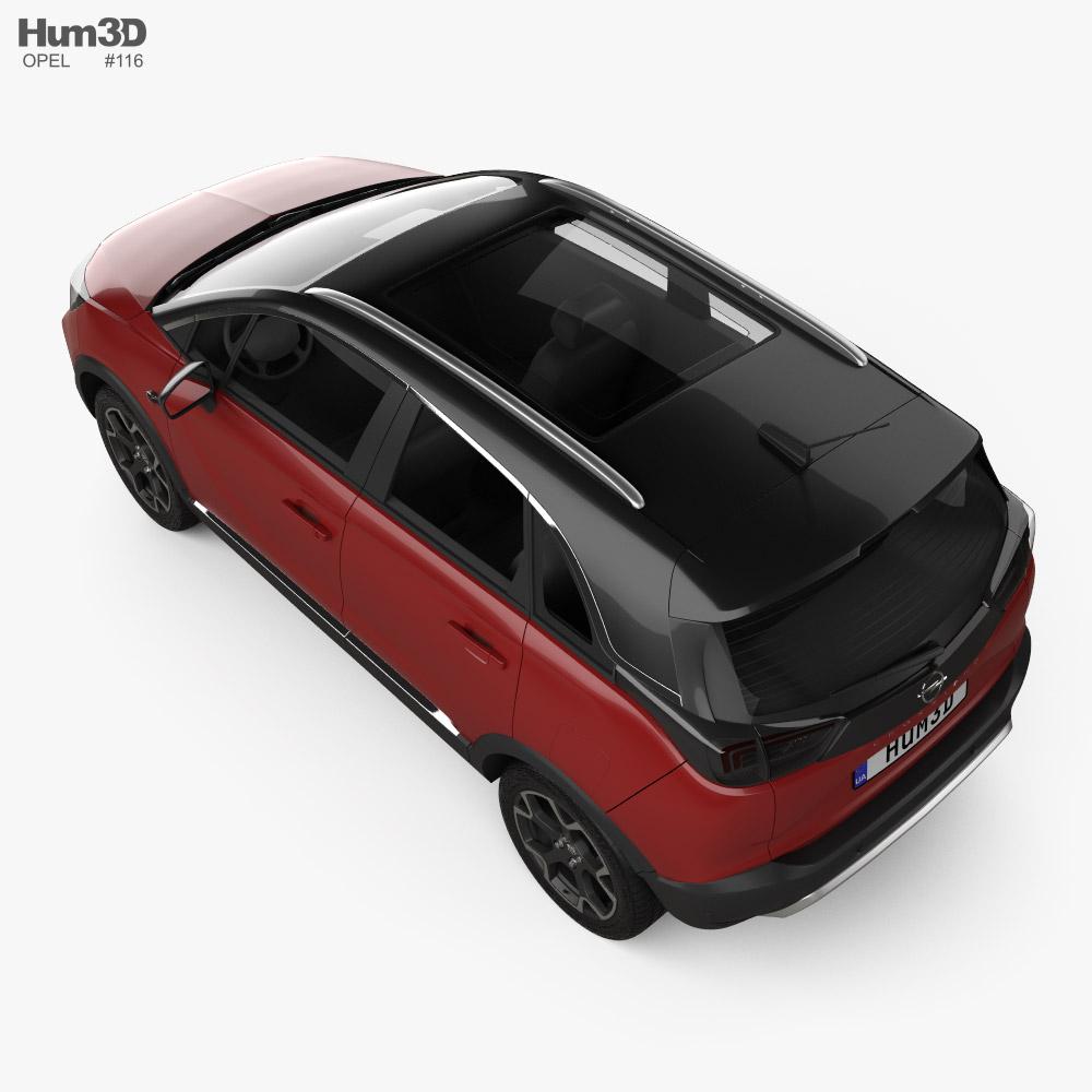 Opel Crossland 2021 3D model