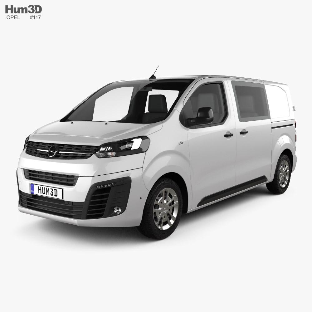 Opel Vivaro Crew Van L2 2019 3D model