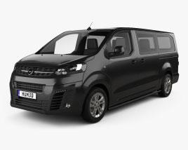Opel Vivaro Crew Van L3 2019 3D model