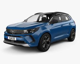 Opel Grandland 2022 3D model