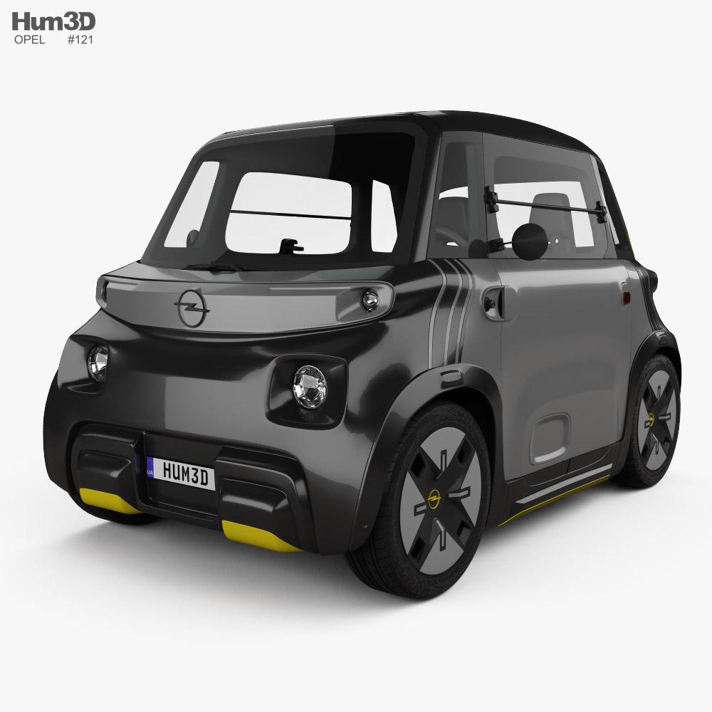Opel Rocks-e 2022 Modelo 3D