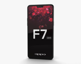 3D model of Oppo F7 Diamond Black