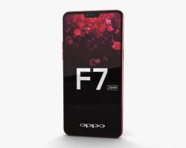 3D model of Oppo F7 Solar Red
