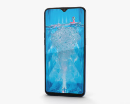 3D model of Oppo F9 Twilight Blue