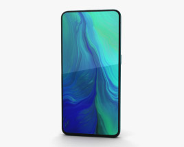 3D model of Oppo Reno 10x zoom Ocean Green