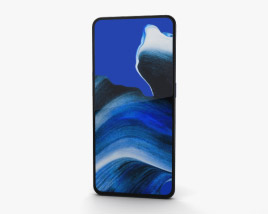 3D model of Oppo Reno 2 Luminous Black
