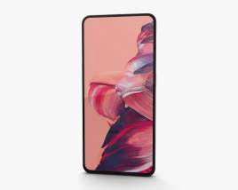 3D model of Oppo Reno 2 Sunset Pink