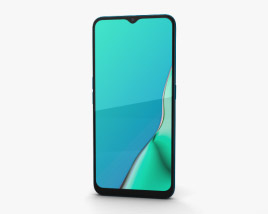 3D model of Oppo A9 Marine Green