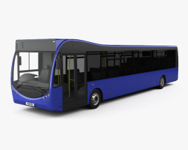 3D model of Optare MetroCity Bus 2012