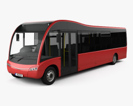 3D model of Optare Solo Bus 2007