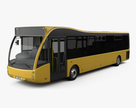 3D model of Optare Versa Bus 2011