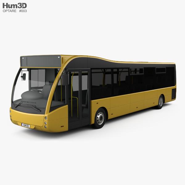 3D model of Optare Versa Bus 2011