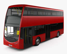 Optare MetroDecker Bus 2014 3D model