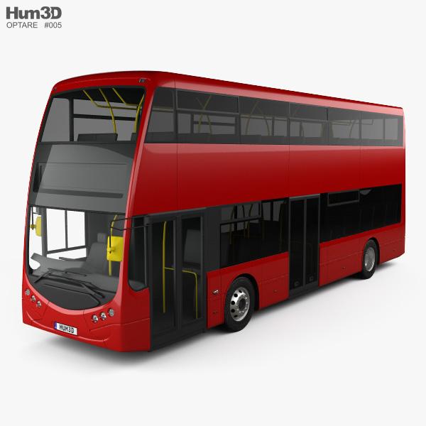 3D model of Optare MetroDecker Bus 2014