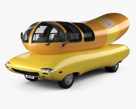 3D model of Oscar Mayer Wienermobile 2012